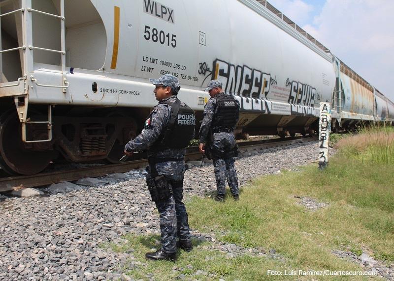 Guardia Nacional custodiará trenes