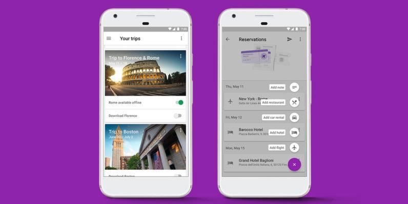 App Google Trips dejará de dar servicio