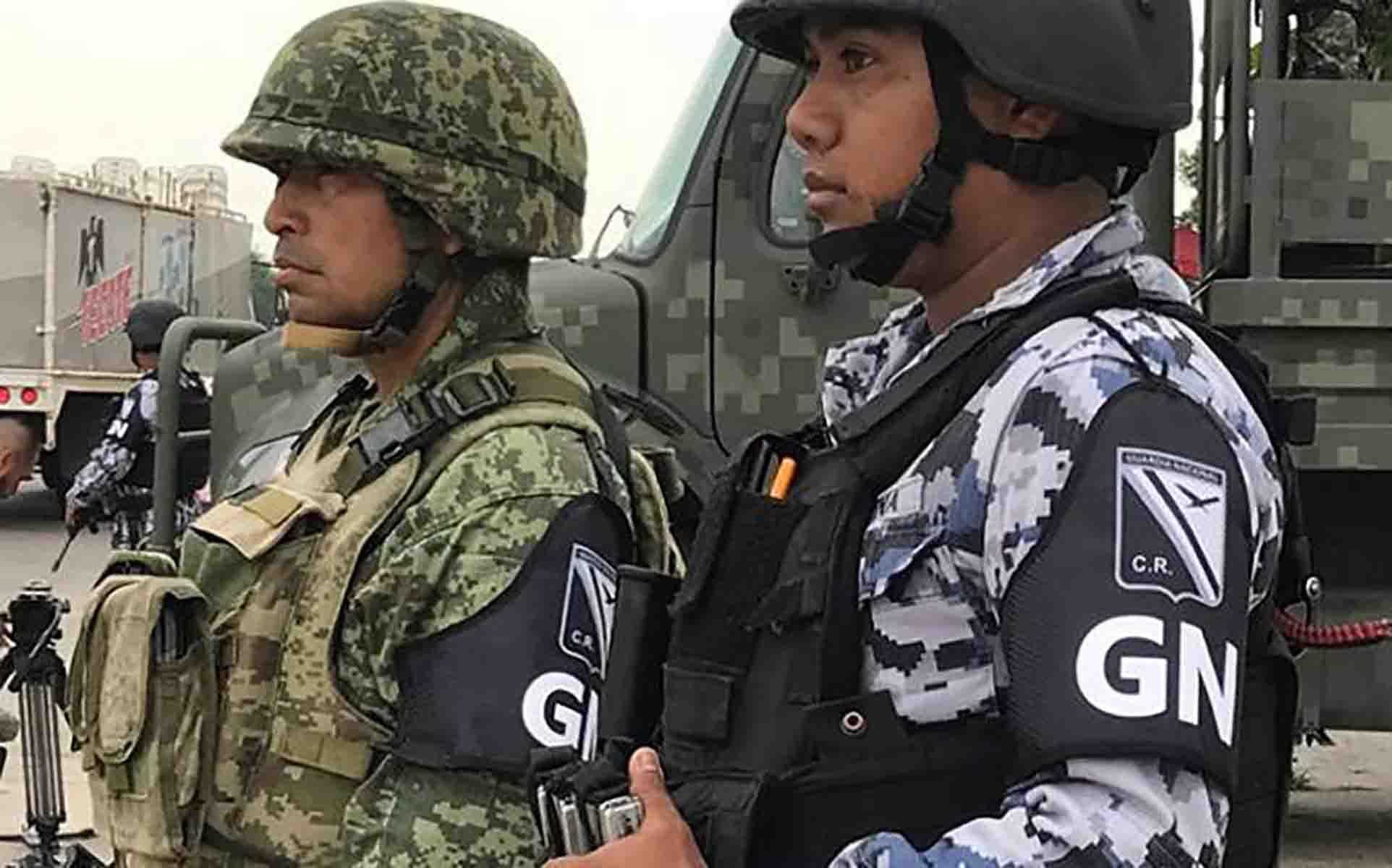 Lista la Guardia Nacional en frontera sur