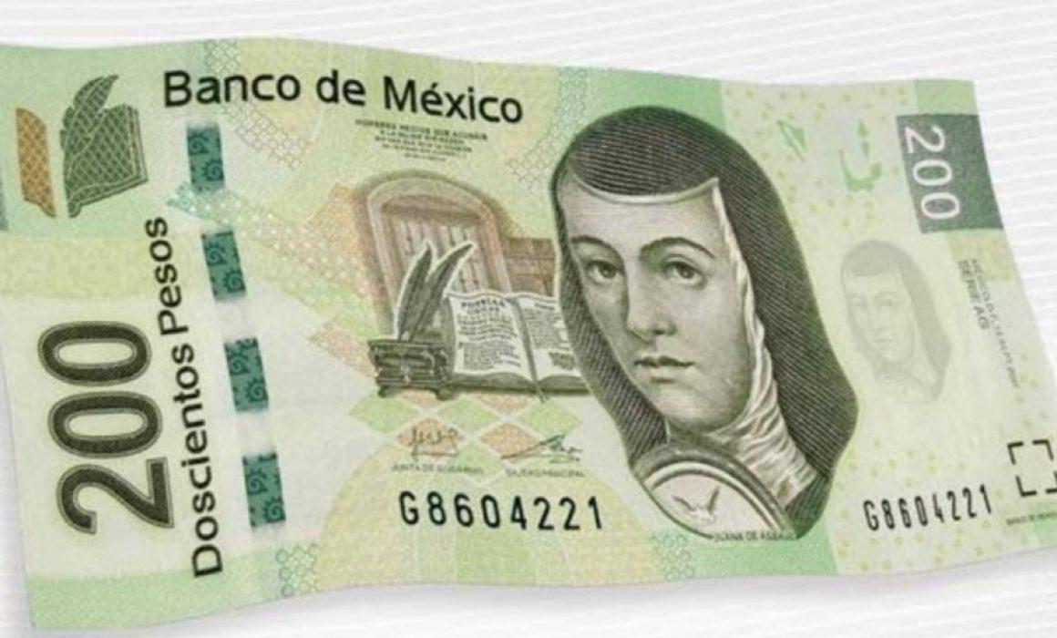 Nuevo billete de 200 pesos circulara a partir de Julio