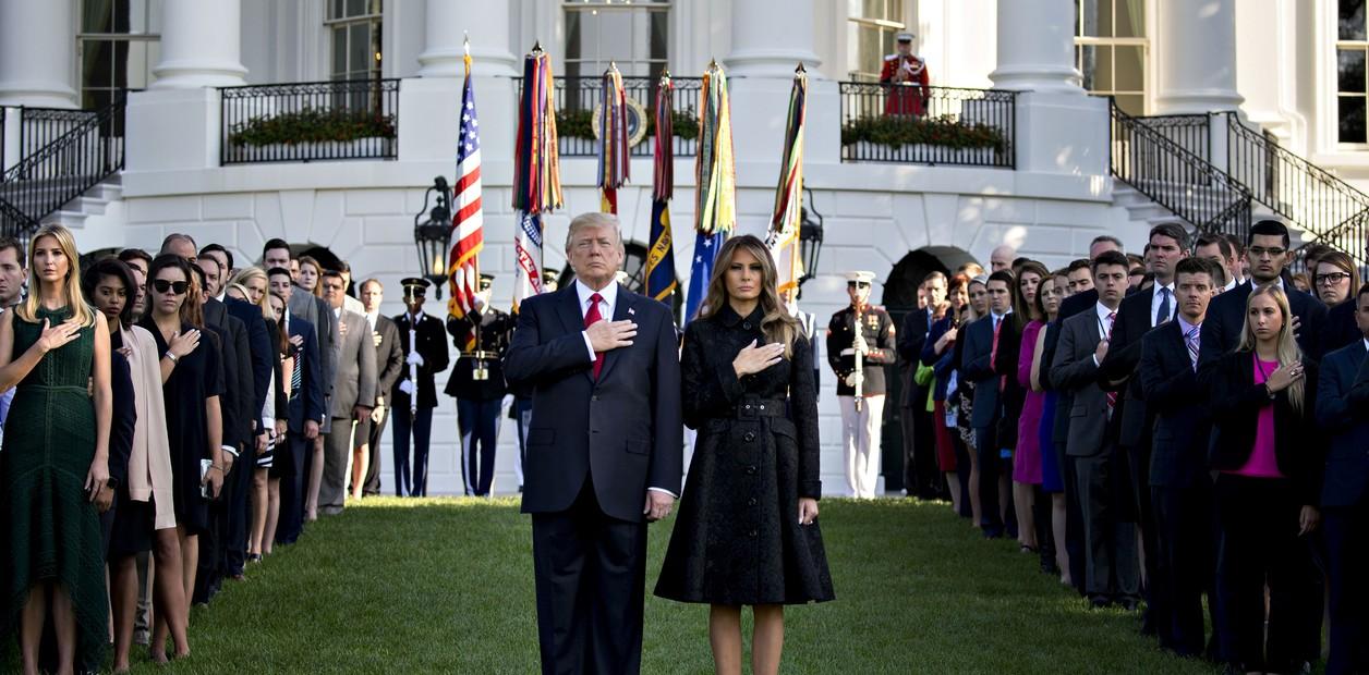 Isabel II y Trump encabezan homenaje del 'Día D'