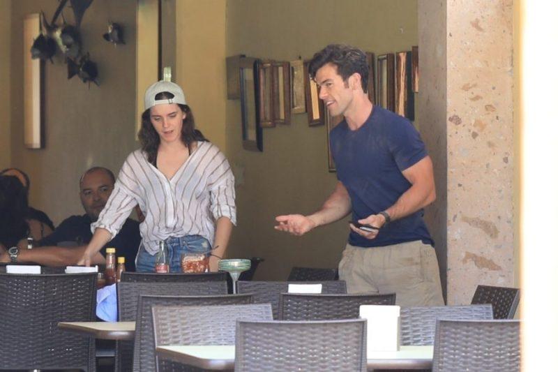 Emma Watson está de vacaciones en México