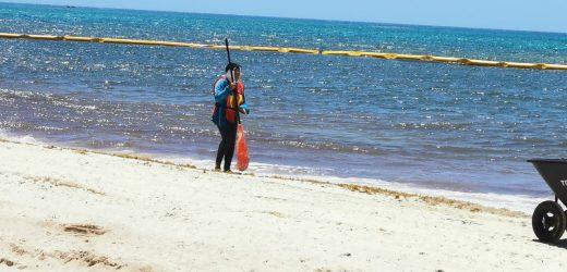 Gran mejoría a diez días que entró en jornada de limpieza la empresa mexicana Grupo AR-CO.