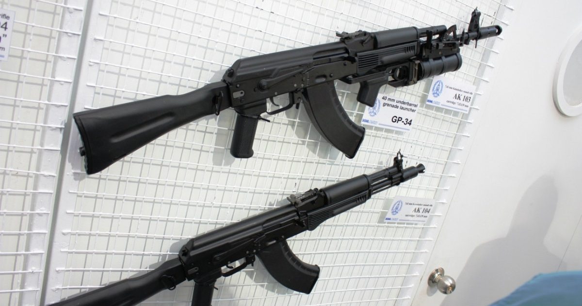 Rusia quiere fabricar fusiles AK-47 en Venezuela