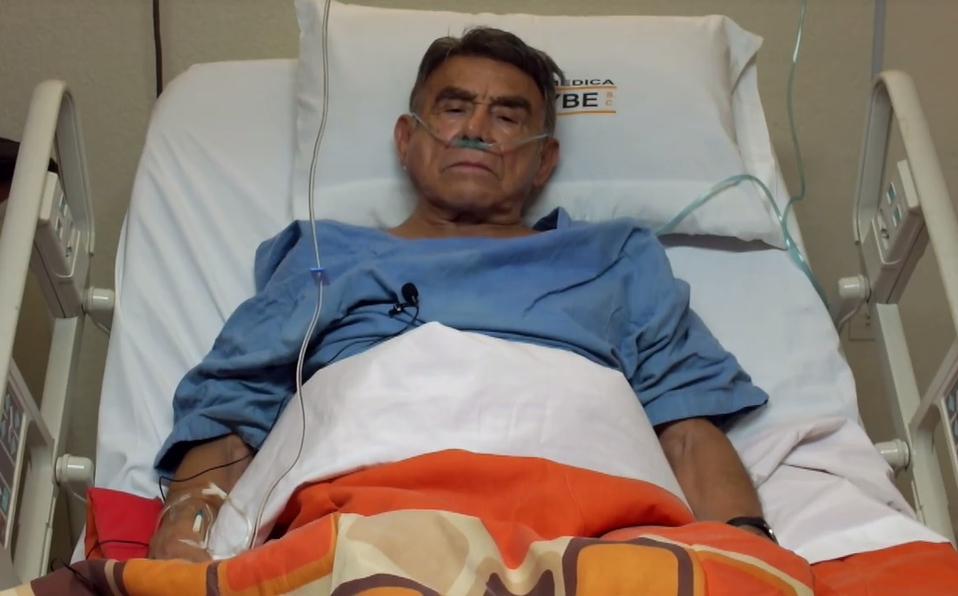 Héctor Suárez esta delicado de salud