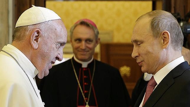 El Papa y Putin se reúnen el próximo 4 de julio