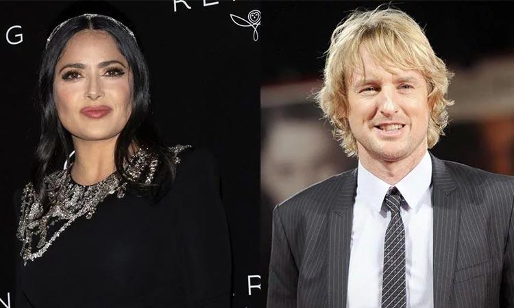 Amazon producirá película protagonizada por Salma Hayek y Owen Wilson