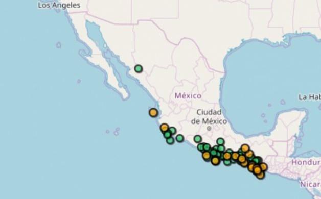Amanece Chiapas y Oaxaca con 'ola' de 5 sismos