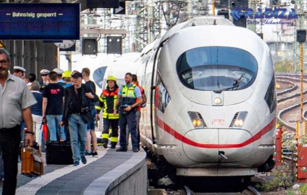 Lanzan a niño a vías de tren de Fráncfort