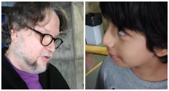 Youtuber de 8 años entrevista a Guillermo Del Toro