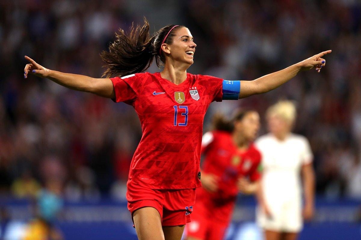Estados Unidos derrota a Inglaterra y avanza a la final del mundial femenil