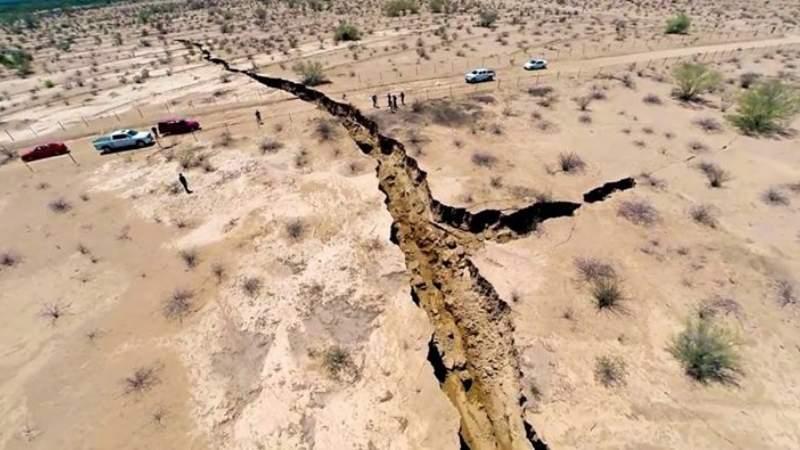 Predicen catástrofes en la Falla de San Andrés