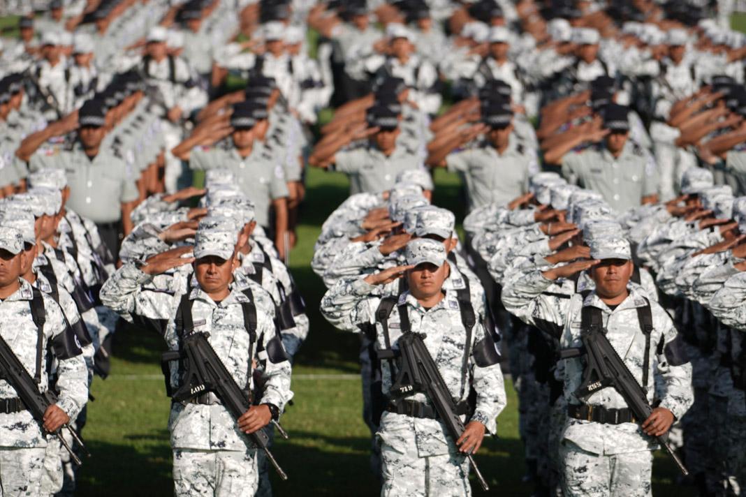 Guardia Nacional inicia operación en Iztapalapa