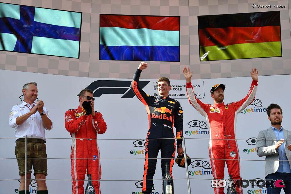 Verstappen gana el GP de Austria