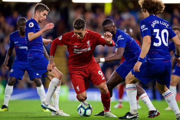 Liverpool vs Chelsea esta tarde