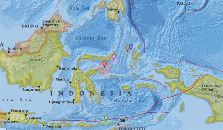 Alerta de tsunami en Indonesia