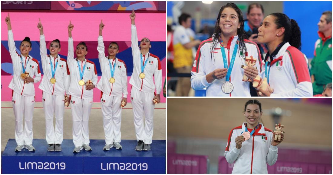 México llega a 100 medallas en Perú
