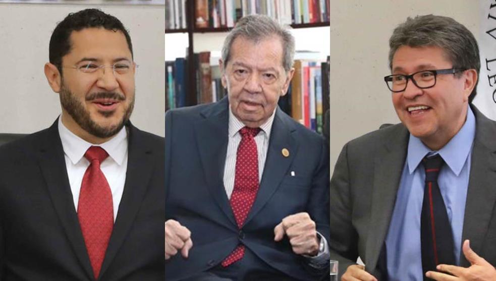 Unen fuerzas Muñoz, Ledo y Batres 'contra el golpismo'