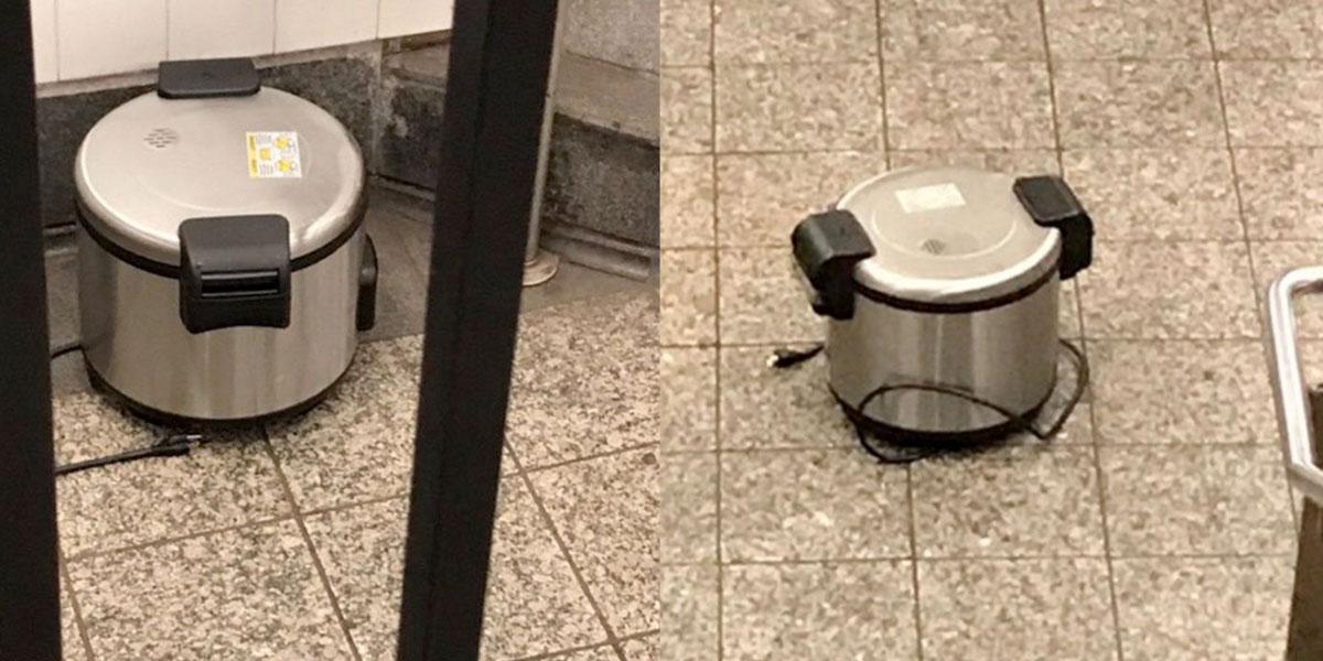 Abandonan ollas en el Metro de NY