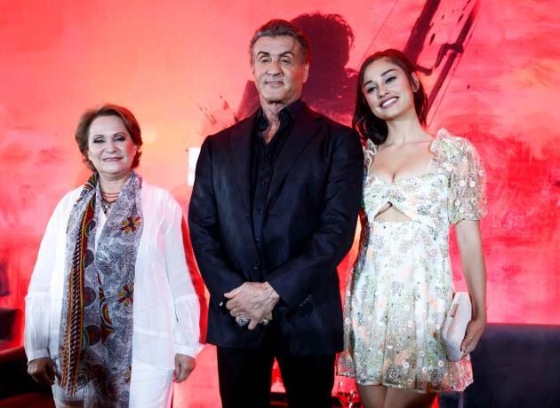 Sylvester Stallone visita México