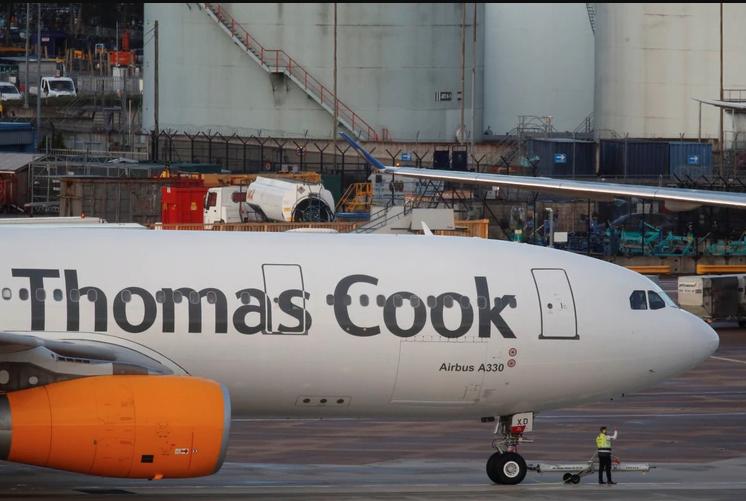 La operadora de viajes Thomas Cook se declaró en quiebra