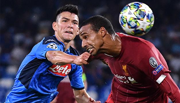 Nápoles derrota al Liverpool