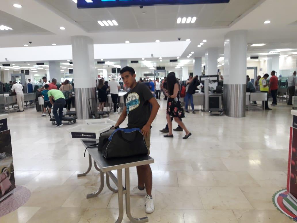 """Provoca """"Dorian"""" cancelaciones de vuelos a Cancún"""