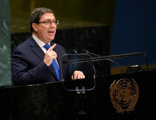 Denuncia Cuba ante ONU 'bajeza y podredumbre' de Trump