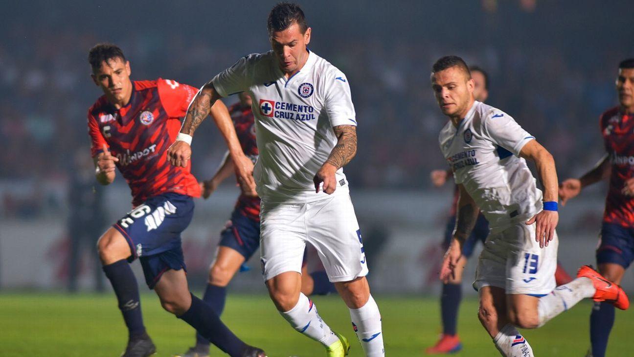 Veracruz y Cruz Azul empatan a 0