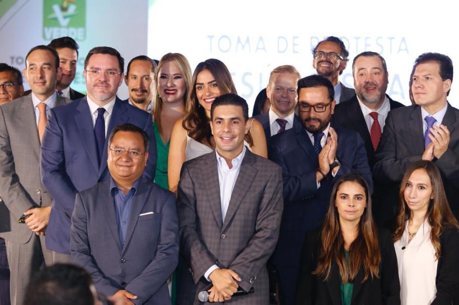 Jesús Sesma dirigirá al  Partido Verde en la CDMX