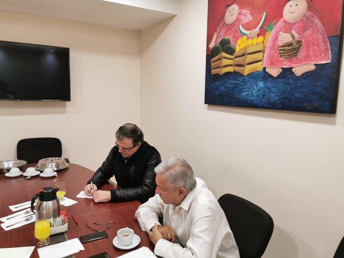 Trump se solidariza con México por violencia en Culiacán: López Obrador