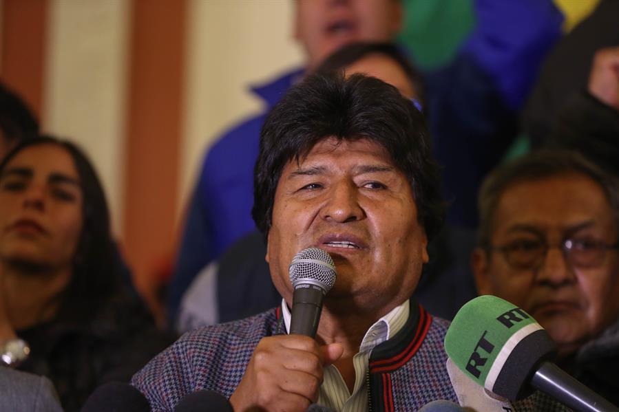 Evo Morales es reelecto como Presidente de Bolivia