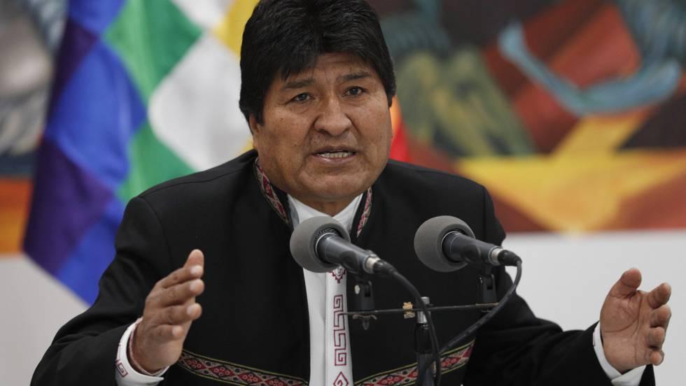Evo Morales acusa golpe de Estado
