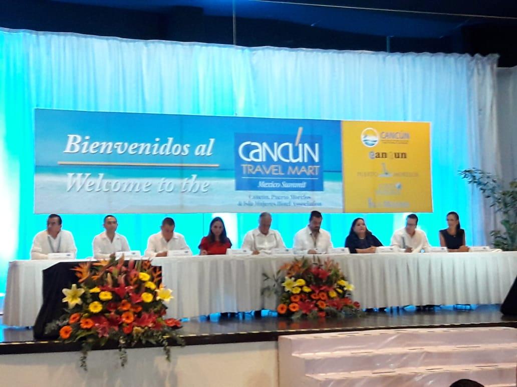 Inicia Cancún Travel Mart con expectativa de 3 mil mdd