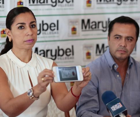 Investigan a esposo de Maribel Villegas