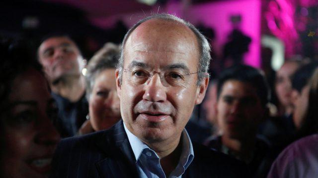 Niega Calderón haber amenazado a ministros de la SCJN