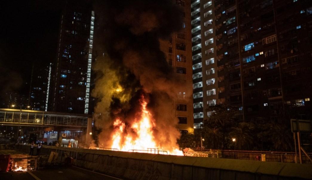 Hong Kong paralizado por protestas