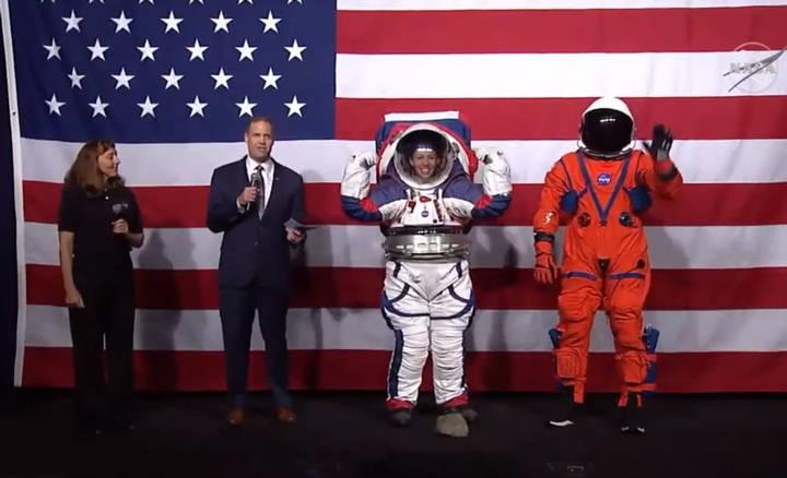 NASA presenta nuevos trajes espaciales