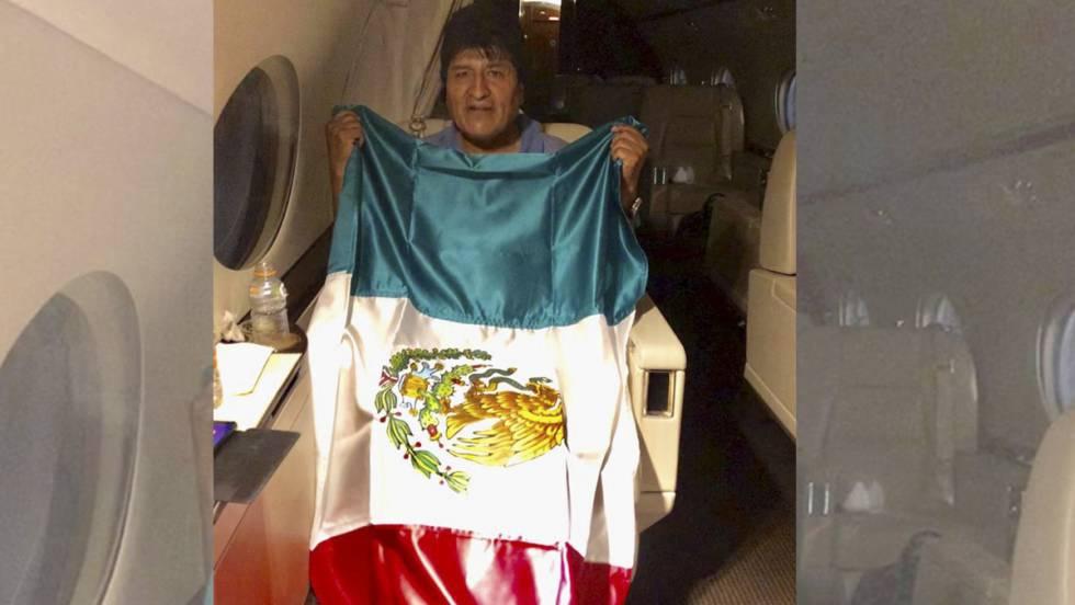 Evo Morales arribará a México a las 11:00 horas