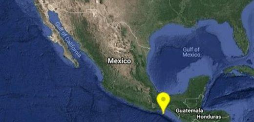 Un terremoto de 5.6 Richter sacude a Guatemala