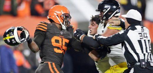 ¿Qué dijeron los Steelers y Browns después de la pelea?