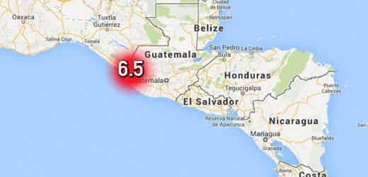 Terremoto sacude a Guatemala