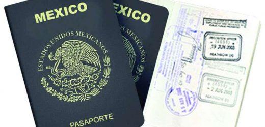 A partir del 2020, (SRE), podría comenzar a emitir pasaportes electrónicos