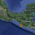 Se registran sismos en Chiapas y Guatemala