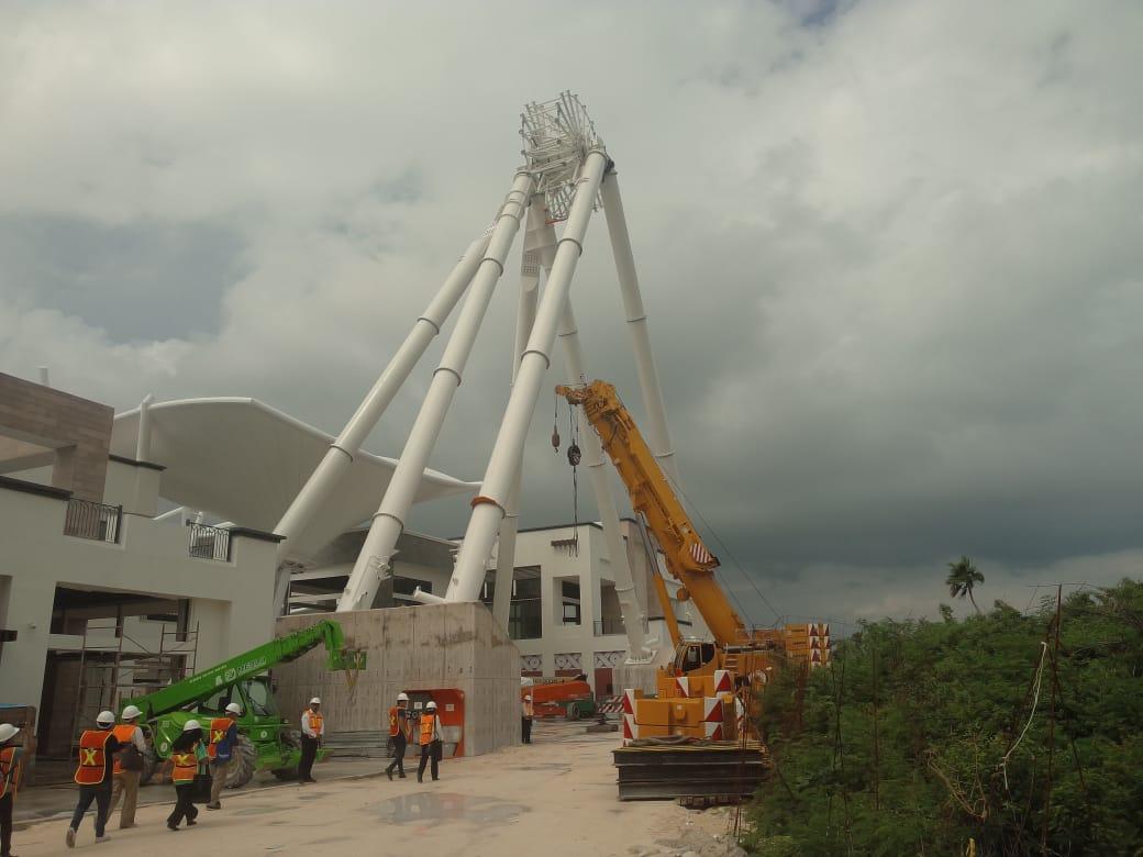 Nueva rueda de la fortuna en Cancún