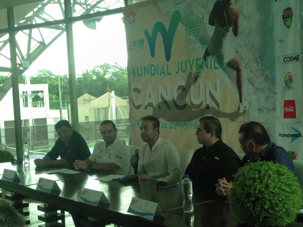 Cancún, sede de Torneo Internacional de Tenis Juvenil