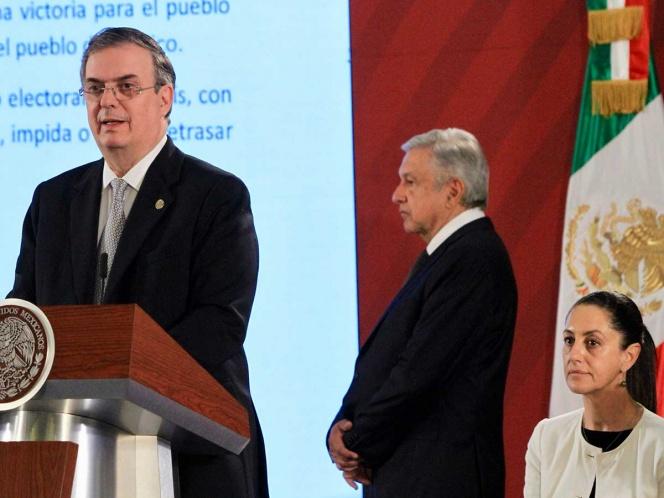 Marcelo Ebrard confirma que México ha cumplido con T-MEC