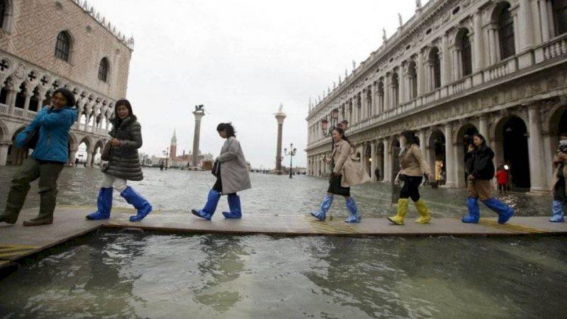 Venecia vuelve a inundarse