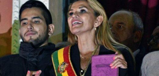 Jeanine Añez, anuncia que  Evo Morales no podrá presentarse como candidato en las próximas elecciones