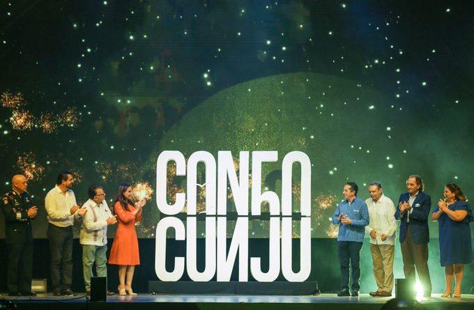 Presentan logotipo oficial del 50 aniversario de Cancún